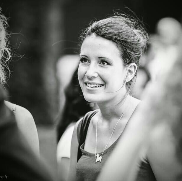Photographie en noir et blanc de Camille Gondard.