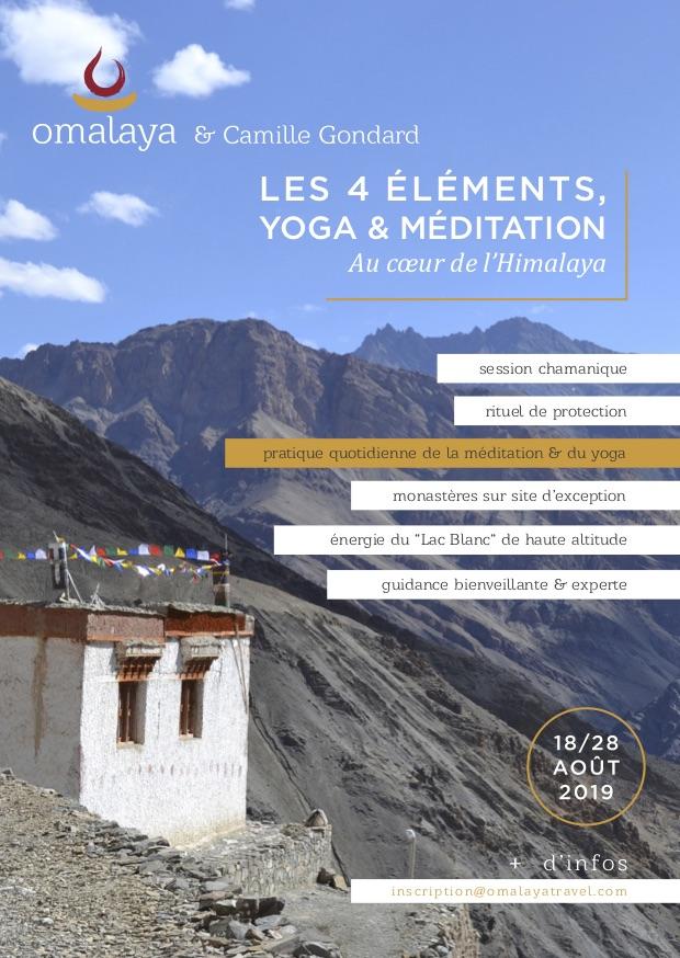 Flyer, voyage initiatique, Ladakh, Petit Tibet, Himalaya.